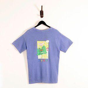 Noah X Frog Skateboards Pocket T Shirt Blue M